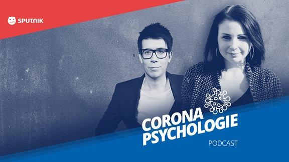 Titelbild des Podcasts von Raimund und der Psychologin Dr. Annegret Wolf über menschliche Psychologie in Zeiten von Corona.