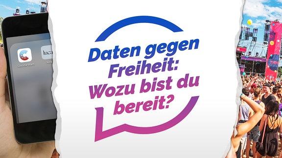 """Das neueste Diskussionsthema in """"Deine Meinung"""" in der SPUTNIK App: Daten gegen Freiheit: Wozu bist du bereit?"""