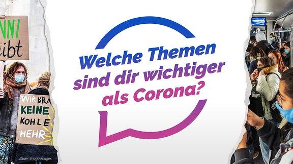Auch wenn Corona im Moment alles überschattet: Andere wichtige Themen verschwinden deshalb nicht. Welche Themen kommen dir zu kurz? Digitalisierung, Bildung, Umweltschutz?