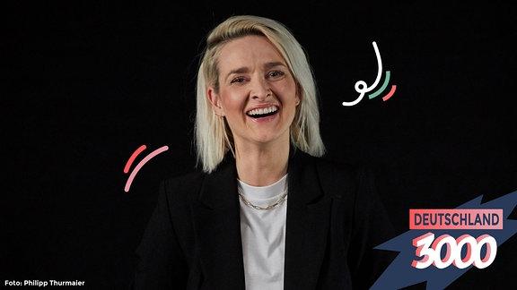 Ariane Alter spricht im Podcast Deutschland3000 mit Eva Schulz unter anderem darüber, wie man Ängste überwindet.