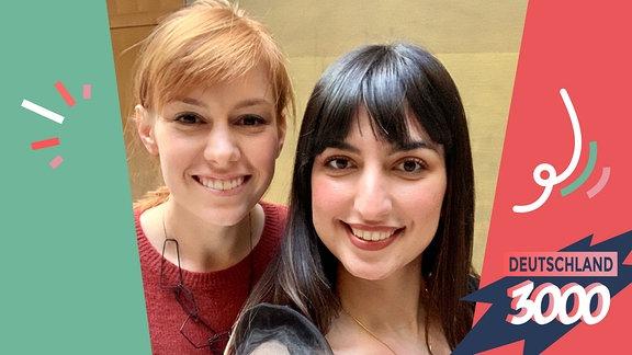 Journalistin Eva Schulz und Coderin Aya Jaff im Interview.