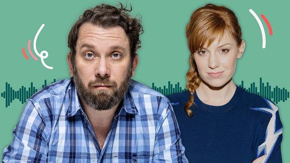 In der neuen Folge Deutschland3000 spricht Host Eva Schulz mit Christian Ulmen.