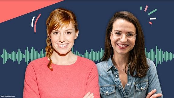 Moderatorin Eva Schulz und Producerin Belli blicken auf das vergangene Jahr zurück.