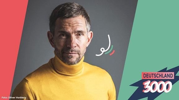 Moderator und Autor Micky Beisenherz ist zu Gast beim Podcast Deutschland3000 mit Eva Schulz.