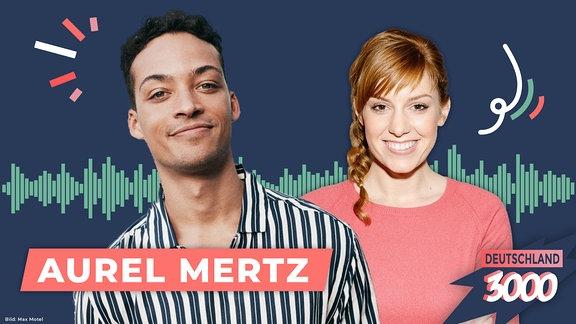 In dieser Folge des Podcasts Deutschland3000 ist Comedian Aurel Merz bei Eva Schulz zu Gast.