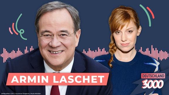 Deutschland3000 mit Armin Laschet und Eva Schulz.