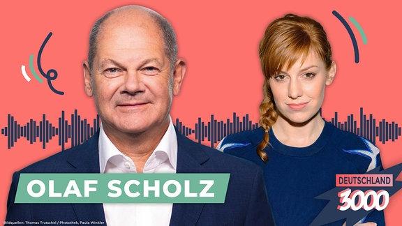 Deutschland3000 mit Olaf Scholz und Eva Schulz