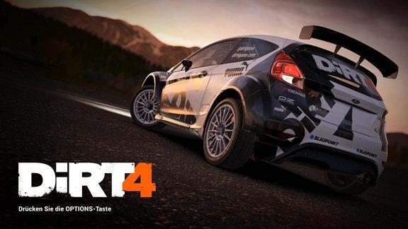 """Szene aus dem Rally Spiel """"Dirt 4"""""""