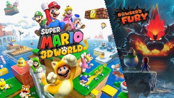 "SPUTNIK Gamecheck ,,Super Mario 3D World + Bowser's Fury"""