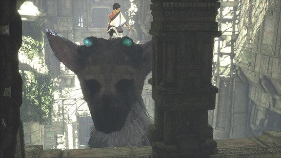 Szene aus The Last Guardian