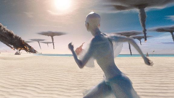 """Die """"Pearls"""" werden auf ihrem Planeten angegriffen."""
