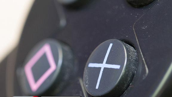 Controller einer Spielekonsole