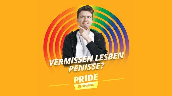 """Host Kai und Becci vom queeren YouTube-Format """"Okay"""" räumen mit Klischees über lesbischen und schwulen Sex auf."""