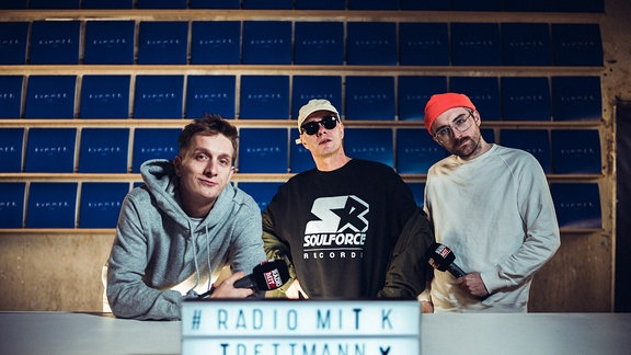 Radio mit K mit Trettmann, Ausgabe vom Oktober 2019.