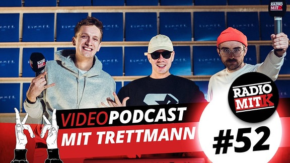 Radio mit K mit Trettmann, Thumbnail des YouTube-Videos.