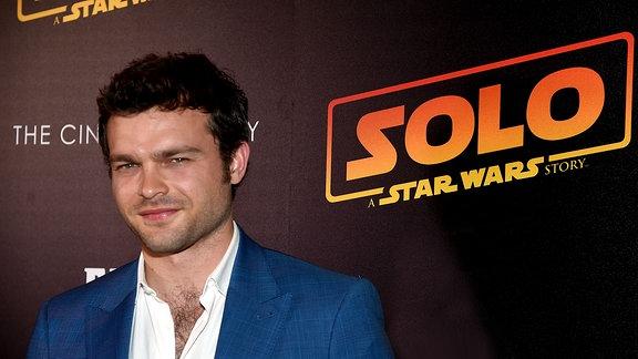 """Alden Ehrenreich bei der Premiere zu """"Solo: A Star Wars Story"""""""