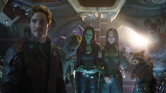 "Szene aus ""Avengers 3 Infinity War"""