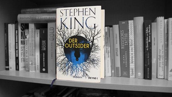 """""""Der Outsider"""", Roman von Steven King, erschienen bei Random House"""
