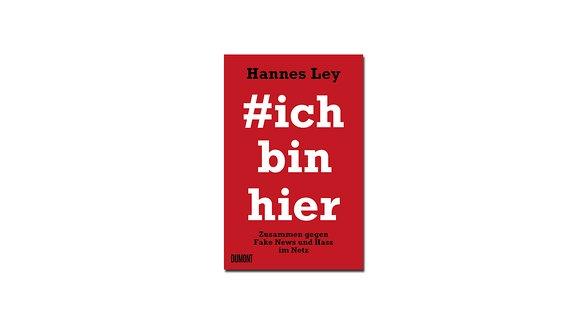 Cover Buch #ichbinhier von Hannes Ley und Carsten Görig
