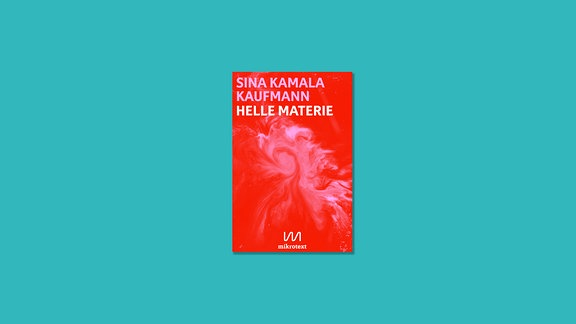 "Cover ""Helle Materie"", Geschichten von Sina Kamala Kaufmann"