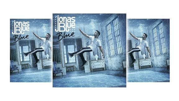 "Cover des Albums ""Blue"" von Jonas Blue"