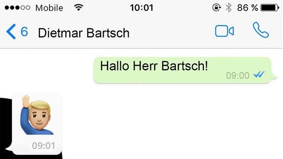 Emoji-Interview mit Dietmar Bartsch (Die Linke)