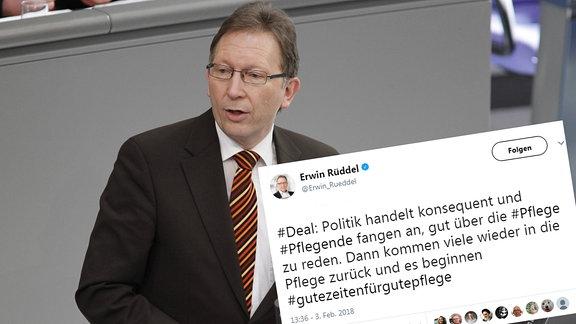 Erwin Rüddel (CDU), Abgeoerdneter in Deutschen Bundestag