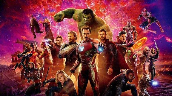 Avengers 3 Infinity War (Plakatausschnitt)