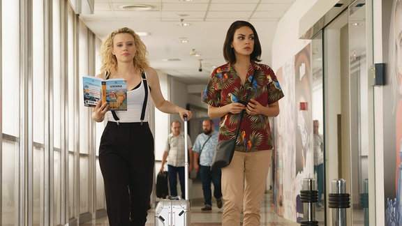 "Mila Kunis und Kate McKinnon in ""Bad Spies"""