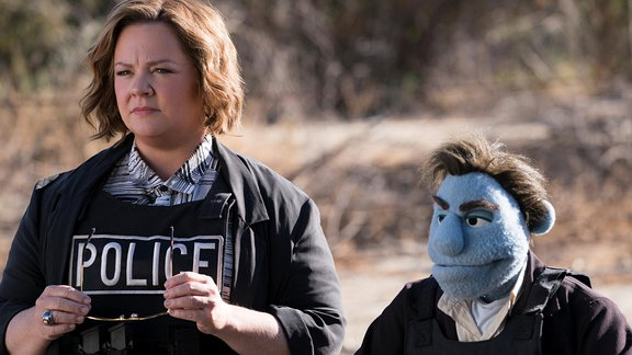 "Melissa McCarthy in ""The Happytime Murders"""