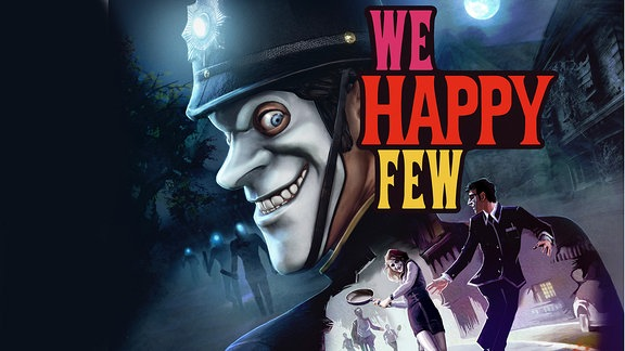 "Game ""We happy few"", Box"