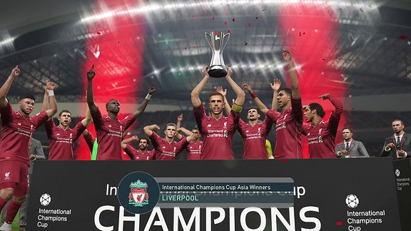 Der FC Liverpool mit Int. Champions Cup (PES 19)