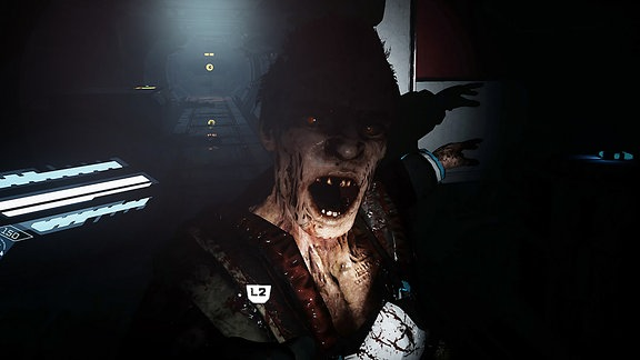"Game ""The Persistence"", zombieähnliche Figur"