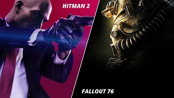 Motive aus Hitman 2 und Fallout 76