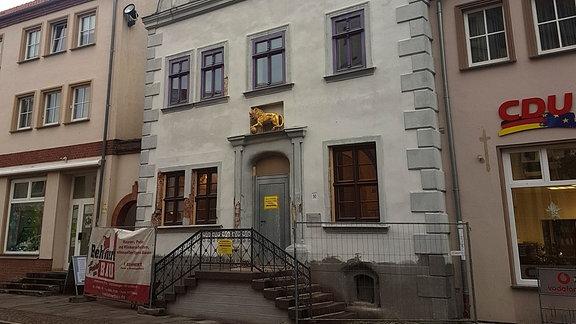 Renaissance-Fassade in Gardelegen