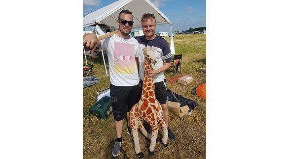 Festival-Giraffe