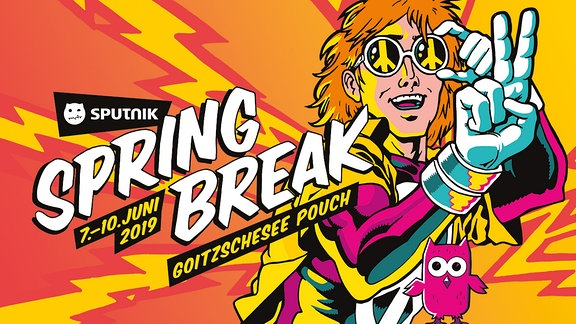 Grafik SPUTNIK SPRING BREAK 2019