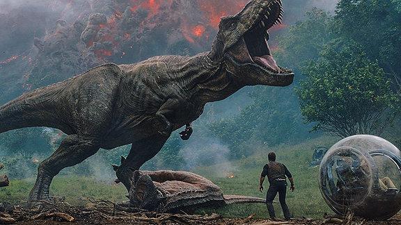 Jurassic World 2: Das gefallene Königreich, Filmszene mit Chris Pratt
