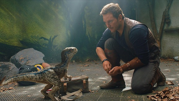 "Chris Pratt in ""Jurassic World 2"""