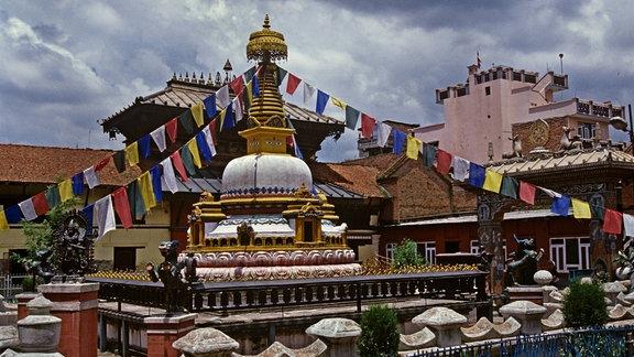 Kloster in Kathmandu/Nepal