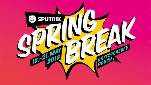 SPUTNIK SPRINGBREAK 2018 (Logo)
