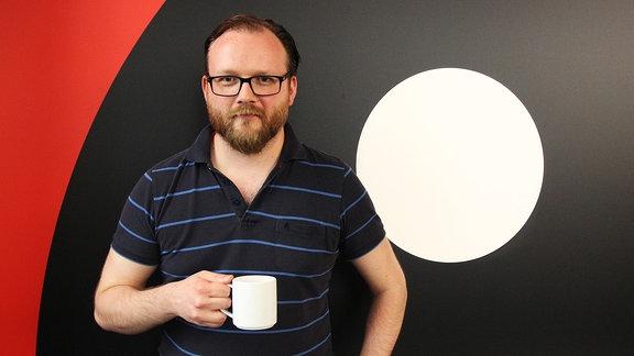 """Matthias, Nachrichtenredakteur bei """"SPUTNIK Tag und Wach"""""""