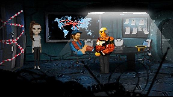 Shot aus dem Game: Neo Magazin Game Royal 2
