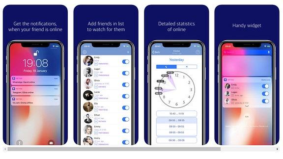 Oberfläche der Netwa App auf dem iPhone/screenshots