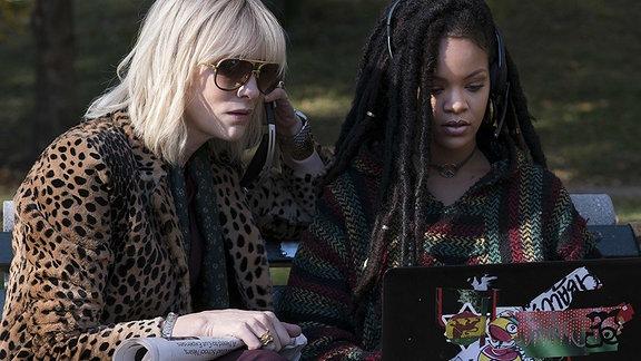 Cate Blanchett und Rihanna als Lou und Nina Ball