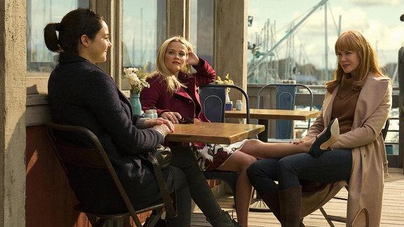 """Nicole Kidmann, Reese Witherspoon und Shailene Woodley (v.r.) in """"Big Little Lies"""""""