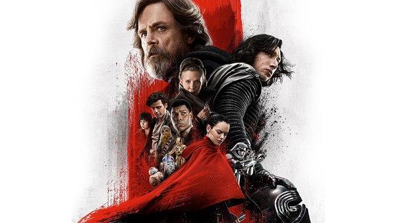 Star Wars: Episode VIII - Die letzten Jedi, Plakatausschnitt