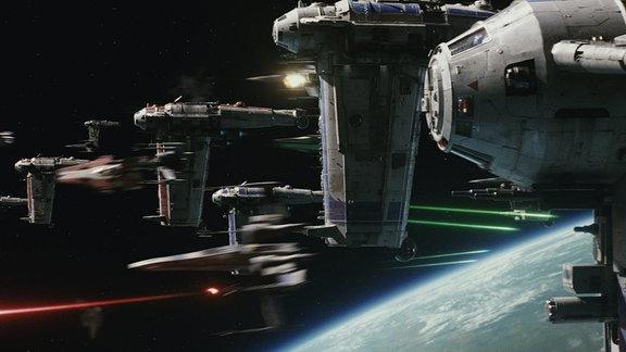 Star Wars: Episode VIII - Die letzten Jedi, Filmszene