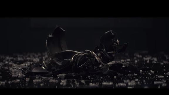 Kaputter Helm von Kylo Ren