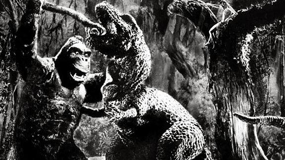 """T-Rex aus """"King Kong und die weiße Frau"""" von 1933"""